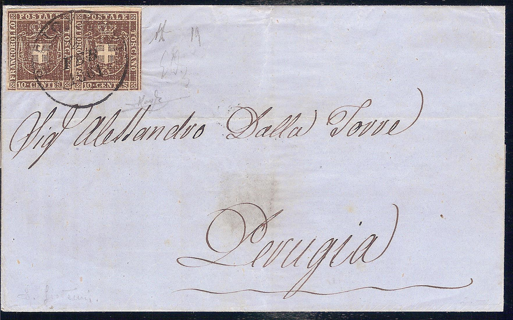 Toscana Gov. prov. 10 cent 001