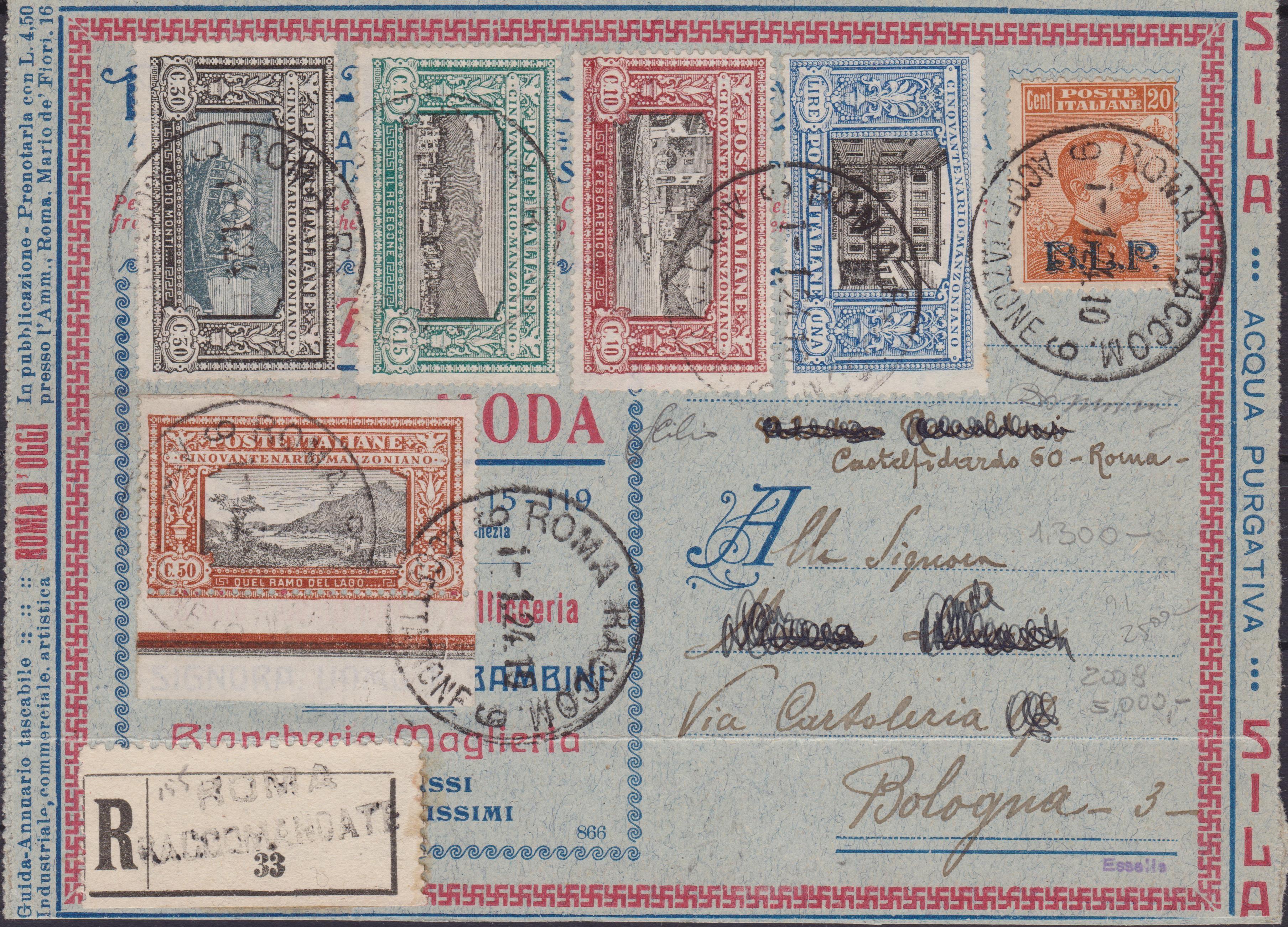 Regno storia postale 001