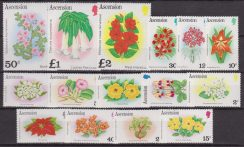 Ascension Is. Flora Fiori Orchidee Flowers 277/91 MNH