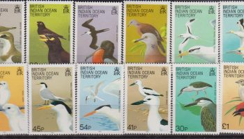 British Indian Ocena Territory Fauna Uccelli 94/105 MNH