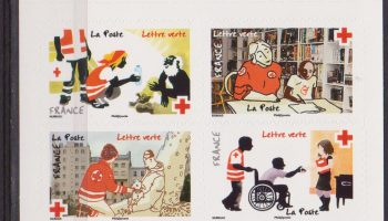 FRANCIA CROCE ROSSA RED CROSS HEALTH MEDICINE BOOKLET MNH
