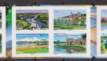 France 2013 Croce rossa  – The Loire libretto MNH