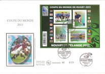 FRANCIA FDC TEMATICA RUGBY