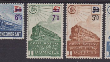 1945 FRANCIA TRENI FERROVIE TRAINS RAILWAYS 226/90 MH