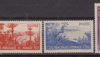MONACO 1937 – BENEFICENZA 135/39 MH