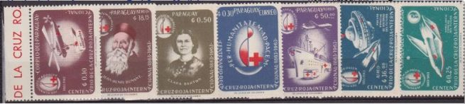 Paraguay croce rossa Red Cross Medicine Medical Health MNH