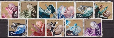 CHURCHILL : HAITI 1968 Churchill Commemoration set MNH Sir Winston Churchill