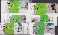 2002 WORLD CUP FOOTBALL CONGIUNTA ITALIA JOINT ISSUE / ITA/BRA/URU/GE/FRA/ARG/
