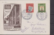 GERMANIA : 1953 IFRABA on cover