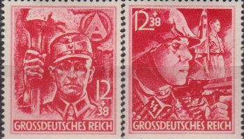 Germany Third Reich 1945 S.A. & S.S. Military set MH