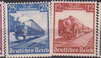 GERMANIA REICH FERROVIE TEDESCHE REILWAY TRAIN 539/42 MH