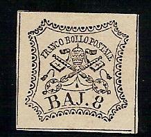 stato pontificio nuvo con ling. n. 9
