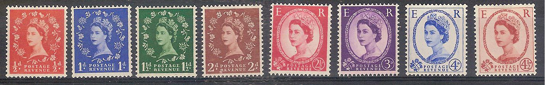 gran bretagna 1958-59 n. 343-50 001