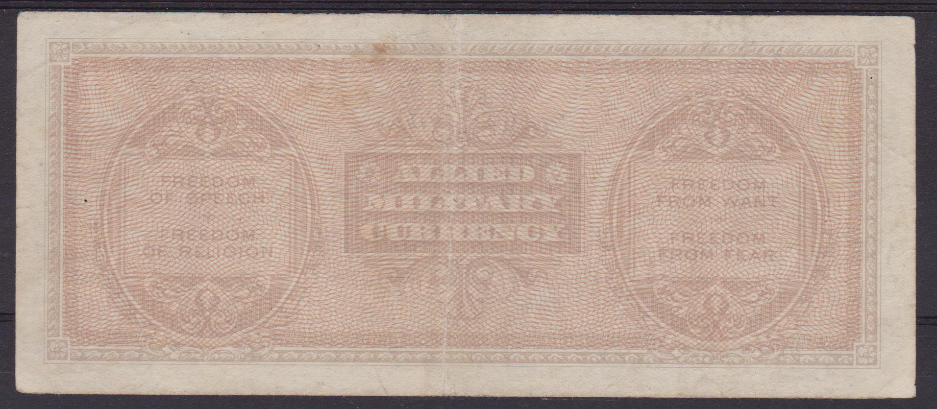 banconota bilingue 1000 lire 2 001