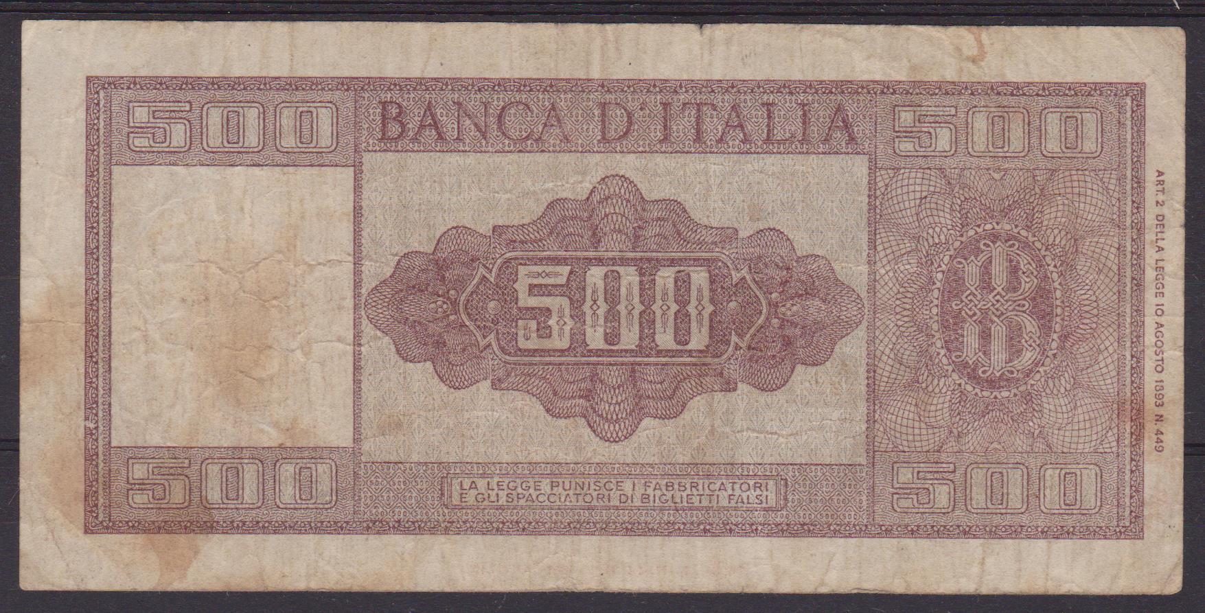 banconota lire 500 2 001