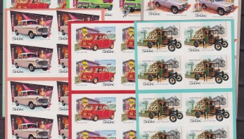 AUSTRALIA AUTOMOBILI OLD CARS 6 BOOKLET MNH