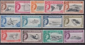 Ascension Is. 1956 – Fauna Marina 62/75 MNH