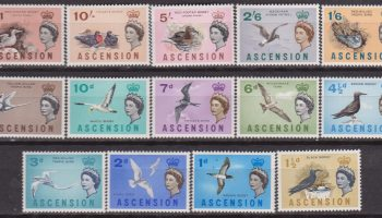 Ascension Is. Fauna Birds Uccelli oiseaux 76/89 MNH