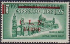 389 * Barge 1945 – Espresso n. 18. Cat. € 160,00. MH
