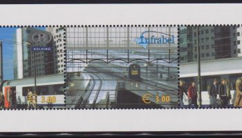 Belgio Belgie 2005 Treni Locomotives / trains / railway / rail / transport sheet MNH