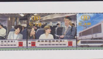 Belgio Belgie 2004 Treni Locomotives / trains / railway / rail / transport sheet MNH