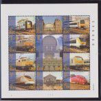 Belgio Belgie 2001 Treni Locomotives / DIESEL / trains / railway / rail / transport sheet MNH