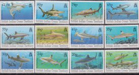British Indian Ocena Territory Fauna Marina Marine life Pesci fishes  153/44 MNH