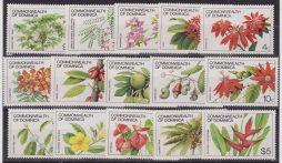 Dominica Flora Flowers – Orchids 15 Values set. cpl. MNH