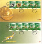SUD AFRICA FDC TEMATICA RUGBY