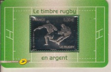 2011 FRANCIA IN ARGENTO MNH RUGBY