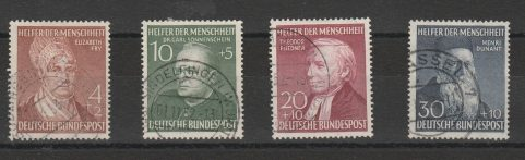 Germania 523 € 1949 – Beneficenza n. 3/6.