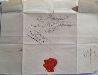Documento con firma di Gioacchino Murat