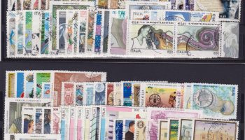 Italia Italy lotto di 422 francobolli usati – Lot 422 used stamps