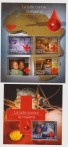 NIGER CROCE ROSSA MALARIA / RED CROSS 4 + SHEET MNH