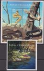 Palau Rettili Reptiles of the south pacific 4+S/S MNH