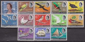 Pitcairn Is. Def. Set MNH  Uccelli 38/49a