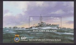 PITCAIRN IS. SHIP NAVE SHEET MNH