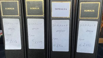 648 ** Somalia 1950/2000 – Collection mounted in 4 GBE albums, almost complete from the period. Cat. € 6182.00. SPL
