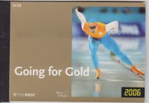 Nederland 2006 Going for Gold olympics winter Torino 2006 3-D Stamps Libretto prestige mnh