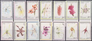 Vanuatu 1982 Flora Flowers Blumen – Orchids 14 Values cpl. set MNH