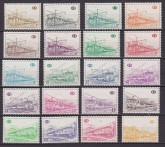 BELGIO /BELGIUM /BELGIE – 1968 – TRENI LOCOMOTIVE / TRAINS LOCOMOTIVE 378/97 MNH