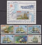 Belize 1981 – Velieri Sailing Ships set + Sheet MNH #769186178