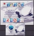 Tuvalu 2013 MNH United Nations World Health Organization 65th Red Cross AIDS 6+shett