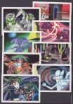 Nicaragua 1994 alieni extraterrestre extraterrestrial aliens Sheets 214-221MNH