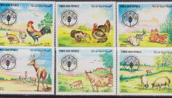 Yemen – FAO animals set MNH